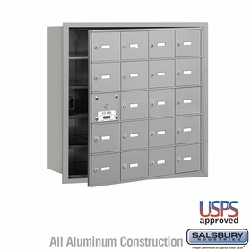 Salsbury 3620AFU 4B Mailboxes 19 Tenant Doors Front Loading - USPS Access