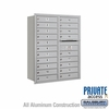 Salsbury 3711D-20ARP 4C Mailboxes 20 Tenant Doors Rear Loading