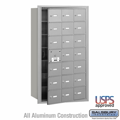 Salsbury 3621AFU 4B Mailboxes 20 Tenant Doors Front Loading - USPS Access