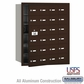 Salsbury 3624ZFU 4B Mailboxes 23 Tenant Doors Front Loading - USPS Access