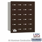 Salsbury 3624ZRU 4B Mailboxes 23 Tenant Doors Rear Loading - USPS Access