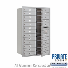 24 Doors - Front Loading Private 4C Mailbox