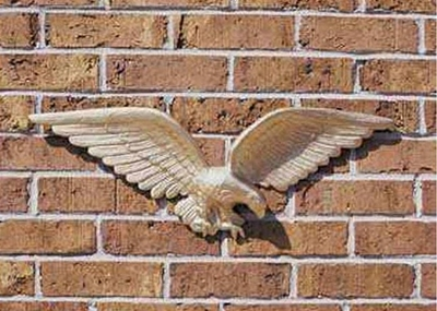 "Whitehall 24"" Wall Eagle Gold-Bronze"