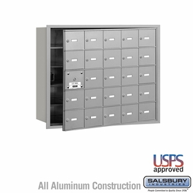 Salsbury 3625AFU 4B Mailboxes 24 Tenant Doors Front Loading - USPS Access