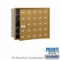 Salsbury 3625GFP 4B Mailboxes 24 Tenant Doors Front Loading - Private Access