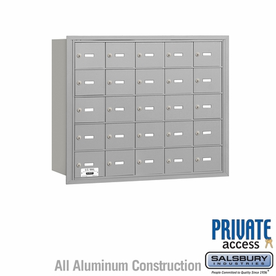 Salsbury 3625ARP 4B Mailboxes 24 Tenant Doors Rear Loading - Private Access