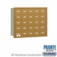 Salsbury 3625GRP 4B Mailboxes 24 Tenant Doors Rear Loading - Private Access