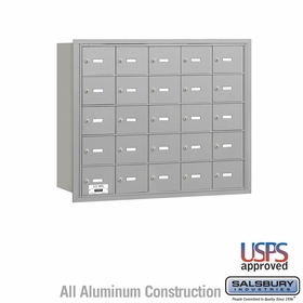 Salsbury 3625ARU 4B Mailboxes 24 Tenant Doors Rear Loading - USPS Access