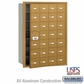 Salsbury 3628GFU 4B Mailboxes 27 Tenant Doors Front Loading - USPS Access