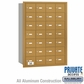 Salsbury 3628GRP 4B Mailboxes 27 Tenant Doors Rear Loading - Private Access