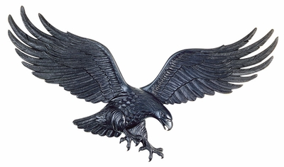 "Whitehall 36"" Wall Eagle Black"