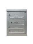 3 Single Height Tenant Doors Front Loading Flex-S3 USPS Approved 4C Horizontal Mailboxes