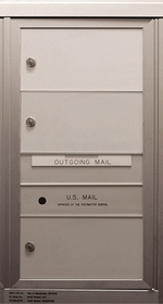 3 Double Height Tenant Doors Front Loading FlexSD3 USPS Approved 4C Horizontal Mailboxes