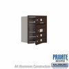 Salsbury 3705S-03ZFP 4C Mailboxes 3 Tenant Doors Front Loading