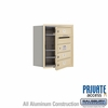 Salsbury 3705S-03SFP 4C Mailboxes 3 Tenant Doors Front Loading