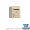 Salsbury 3705S-03SRP 4C Mailboxes 3 Tenant Doors Rear Loading
