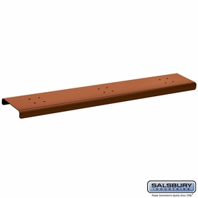 Salsbury 4383D-COP 3 Wide Spreader For Designer Roadside Mailbox Copper Finish