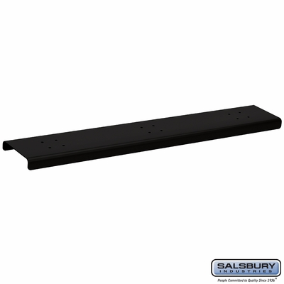Salsbury 4383BLK 3 Wide Spreader For Roadside Mailboxes Black