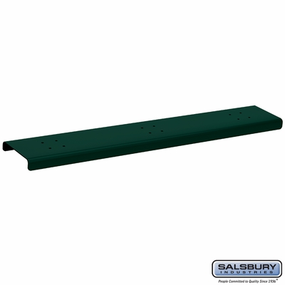 Salsbury 4383GRN 3 Wide Spreader For Roadside Mailboxes Gree