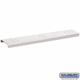 Salsbury 4383W 3 Wide Spreader For Mail Chests White
