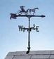 "Whitehall 30"" Accent Directions COUNTRY DOCTOR Weathervane in Black"
