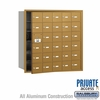 Salsbury 3630GFP 4B Mailboxes 29 Tenant Doors Front Loading - Private Access