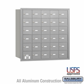 Salsbury 3630ARU 4B Mailboxes 29 Tenant Doors Rear Loading - USPS Access
