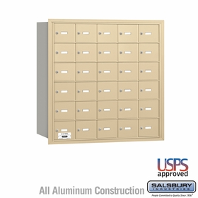 Salsbury 3630SRU 4B Mailboxes 29 Tenant Doors Rear Loading - USPS Access