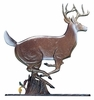 "Whitehall 30"" Traditional Directions Life-Like MultiColor BUCK Weathervane for Roof or Garden"