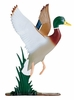 "Whitehall 30"" Traditional Directions Life-like MultiColor DUCK Weathervane for Roof or Garden"