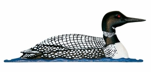 """Whitehall 30"""" Traditional Directions Life-Like MultiColor LOON Weathervane for Roof or Garden"""