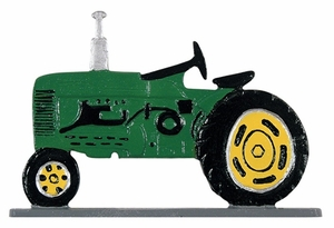 """Whitehall 30"""" Traditional Directions Life-Like MultiColor TRACTOR Weathervane for Roof or Garden"""