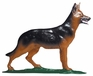 "Whitehall 30"" Traditional Directions Life-Line MultiColor GERMAN SHEPHERD Weathervane for Roof or Garden"