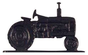 "Whitehall 30"" Traditional Directions TRACTOR Weathervane in Black for Roof or Garden"