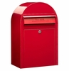 USPS Bobi Classic Red Front Access Lockable Mailbox