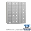 Salsbury 3635ARP 4B Mailboxes 34 Tenant Doors Rear Loading - Private Access