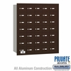 Salsbury 3635ZRP 4B Mailboxes 34 Tenant Doors Rear Loading - Private Access