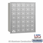 4B Mailboxes - 34 Tenant Doors - Rear Loading