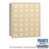 Salsbury 3635SRP 4B Mailboxes 34 Tenant Doors Rear Loading - Private Access