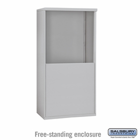 3708 Double Column Free-Standing Enclosure