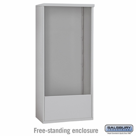 3714 Double Column Free-Standing Enclosure