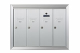4 Door Surface Vertical Mailboxes