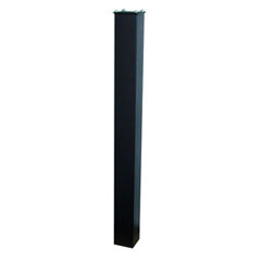43 inch Black In Ground Post