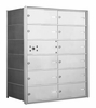 4B+ Front-Loading Horizontal Mailboxes - 11 Double Wide Tenant Doors