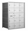 1400 Series Front-Loading Horizontal Mailboxes - 14 Tenant Doors And 1 USPS Master Door