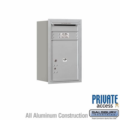 Salsbury 3707S-1PARP 4C Mailboxes 1 Parcel Locker Rear Loading