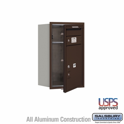 Salsbury 3707S-1PZFU 4C Mailboxes 1 Parcel Locker Front Loading