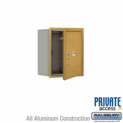 Salsbury 3705S-1PGFP 4C Mailboxes 1 Parcel Locker Front Loading
