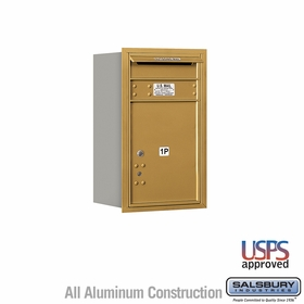 Salsbury 3707S-1PGRU 4C Mailboxes 1 Parcel Locker Rear Loading