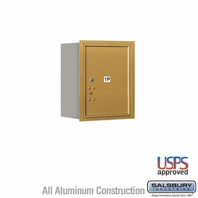Salsbury 3705S-1PGRU 4C Mailboxes 1 Parcel Locker Rear Loading